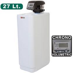 Adoucisseur d\'eau chrono-volumétrique 27 litres adoucisseur d'eau softener plus - add-27/dl