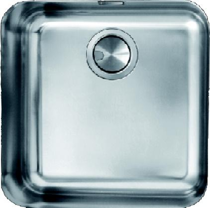 Sanizeo evier cuve inox sous plan sm 4545 inox lisse for Evier cuve inox