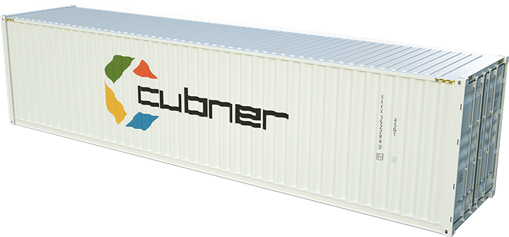 container 40 pieds high cube cubner. Black Bedroom Furniture Sets. Home Design Ideas