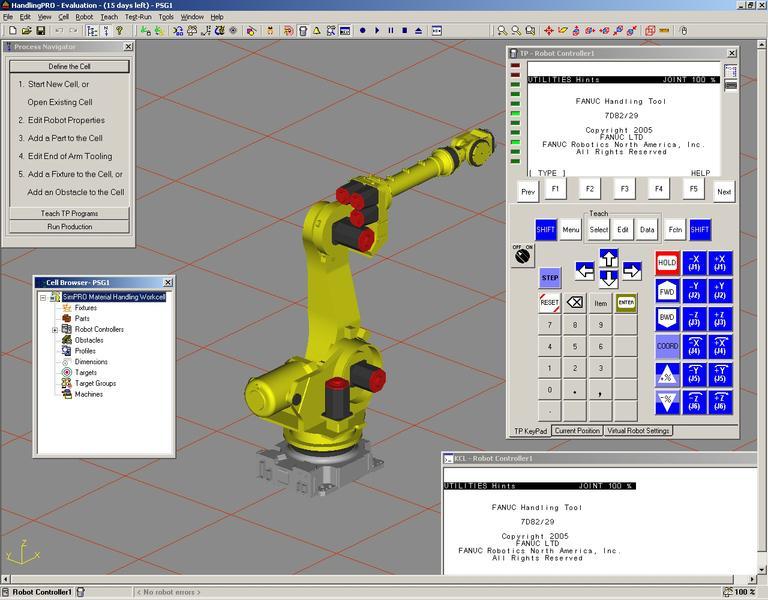 logiciel de simulation robot hors ligne roboguide