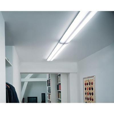 luminaire grille g13 osram 4008321553676 116 w gris argent blanc comparer les prix de. Black Bedroom Furniture Sets. Home Design Ideas