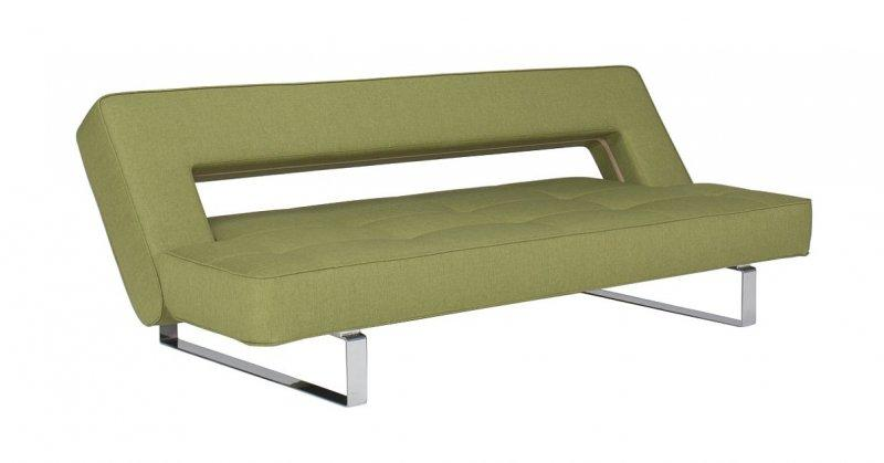 canape design wing vert convertible lit 200 110cm. Black Bedroom Furniture Sets. Home Design Ideas
