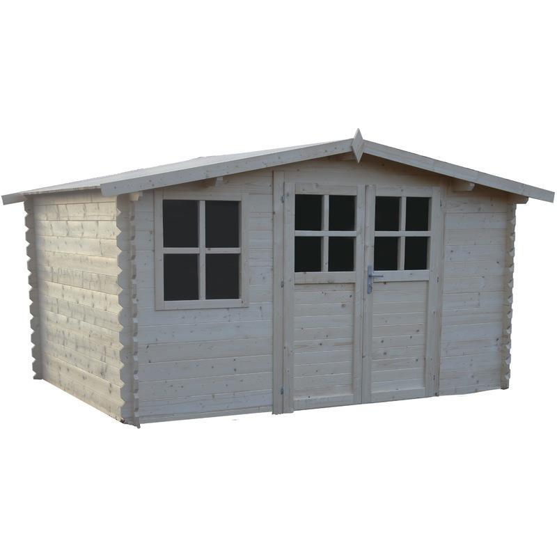 Abri chalet en bois tous les fournisseurs de abri chalet for Chalet de jardin 12m2
