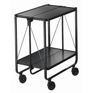 Chariot de service materiau acier thermolaque 600 mm x for Leifheit 59101 chariot de nettoyage professionnel