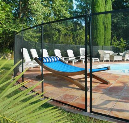 barriere piscine gardienne section de 5 metre. Black Bedroom Furniture Sets. Home Design Ideas