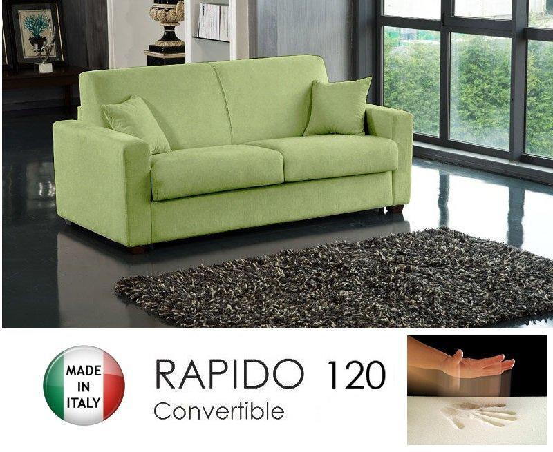 Convertible 120cm Rapido Tissu Vert Anis Dreamer Microfibre Canapé ukZTwOPiX