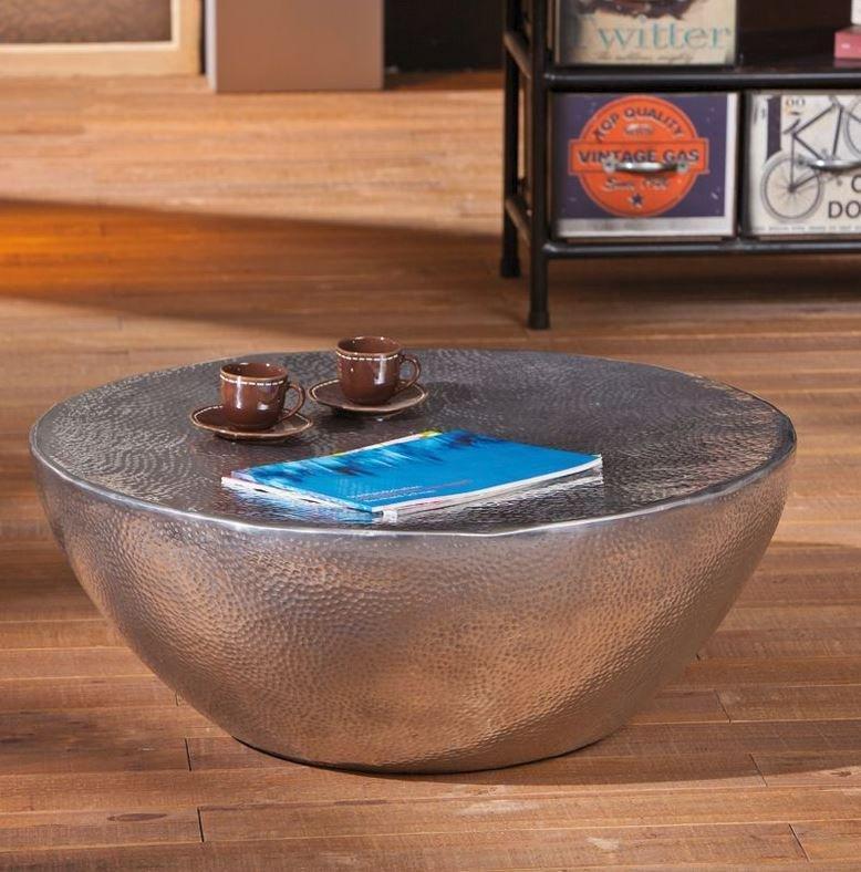 table basse design pelas en aluminium. Black Bedroom Furniture Sets. Home Design Ideas