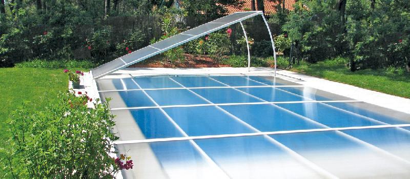 Abri de piscine amovibles invisible for Abri de piscine amovible