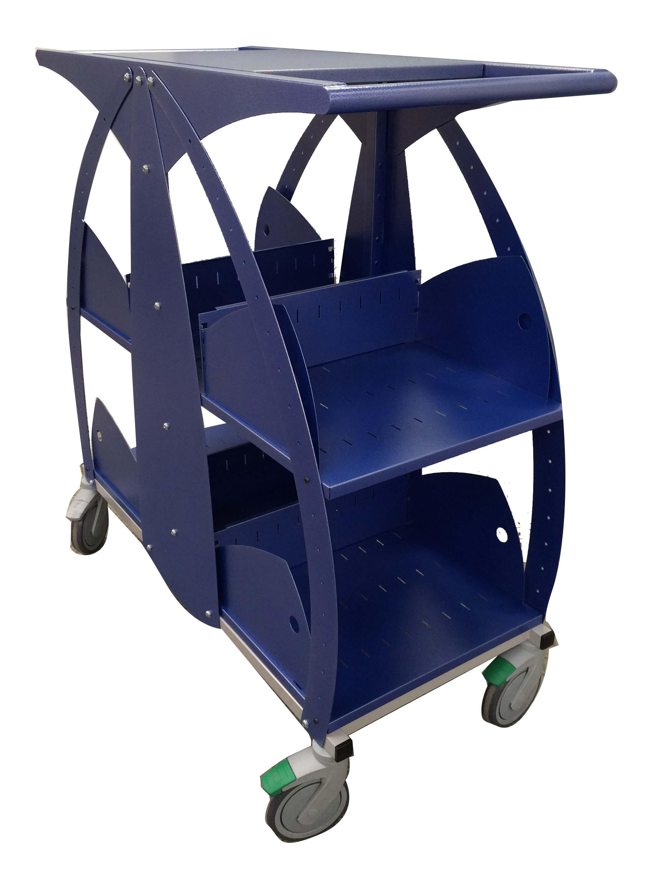 pcm habilclass produits chariots manuels a etageres. Black Bedroom Furniture Sets. Home Design Ideas