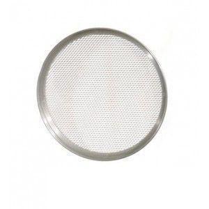 grille a pizza en aluminium avec bordure 2 cm 26 cm aluminium tf26. Black Bedroom Furniture Sets. Home Design Ideas