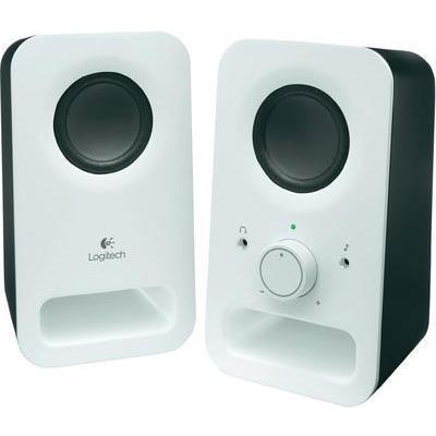 haut parleurs pc logitech 980 000815 blanc comparer les prix de haut parleurs pc logitech 980. Black Bedroom Furniture Sets. Home Design Ideas