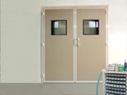 Portes étanches pour salles blanches