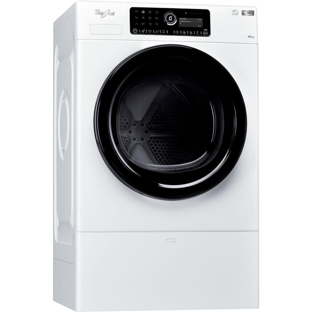 Sèche-linge à pompe à chaleur whirlpool : posable - hscx 10442