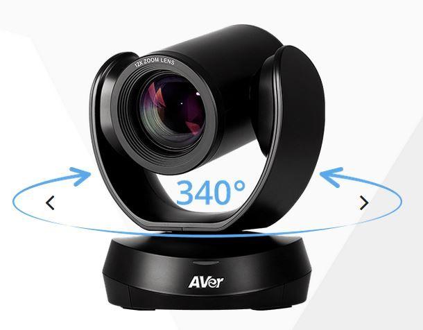 Aver cam520 - caméra ptz, usb, rs232, poe & ip steaming