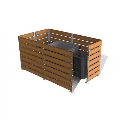 cache conteneur en stratifie compact. Black Bedroom Furniture Sets. Home Design Ideas