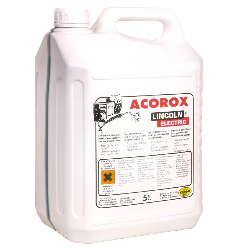 LIQUIDE DE REFROIDISSEMENT ACOROX (2 X 5 LITRES) POUR POSTE À SOUDER LINCOLN