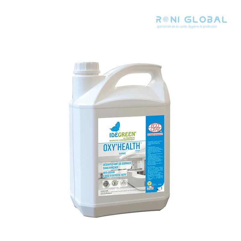 Désinfectant oxy'health 5l