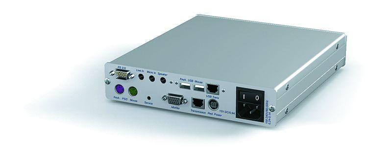 CATVISION EXTENSION VGA AVEC CLAVIER, SOURIS, AUDIO, USB, RS-232