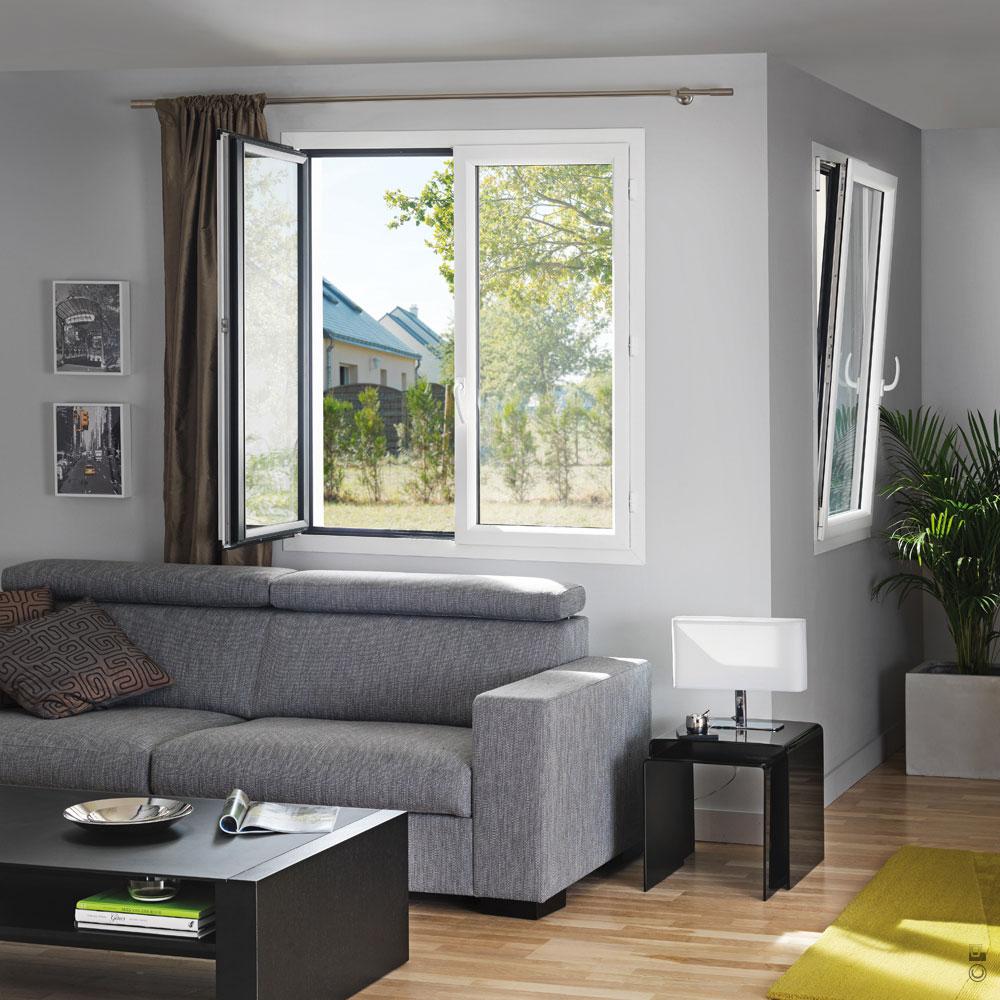 Fenêtres Et Portes Fenêtres Alu à La Française Gamme Empreinte