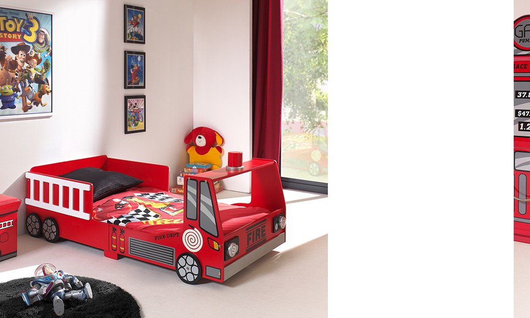 Chambre garcon camion - Chambre garcon rouge ...