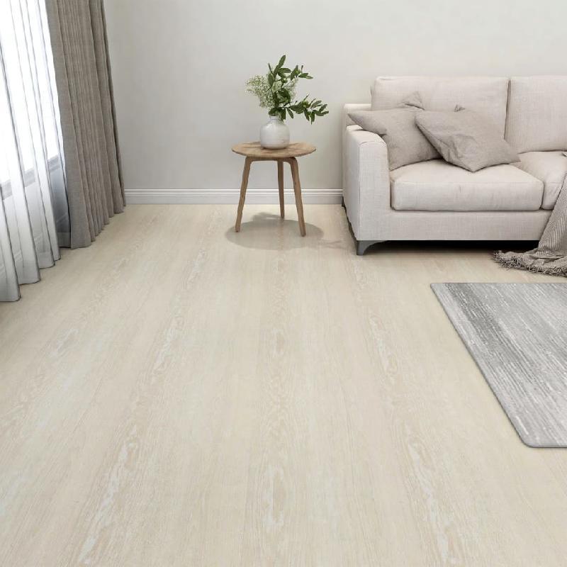 Vidaxl planches de plancher autoadhésives 20 pcs pvc 1,86 m² beige