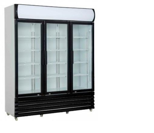 Armoire vitrine à boisson 3 portes 1065 l
