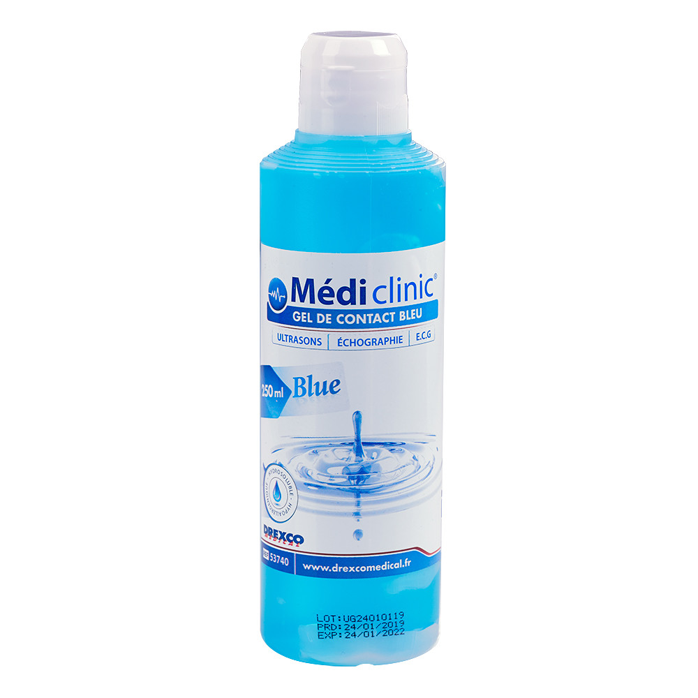 GEL ULTRASON BLEU MEDI'GEL 250ML