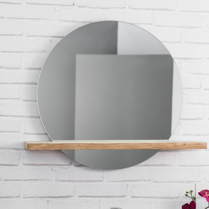 Super Miroir Salle De Bain Rond | VALDIZ LC33
