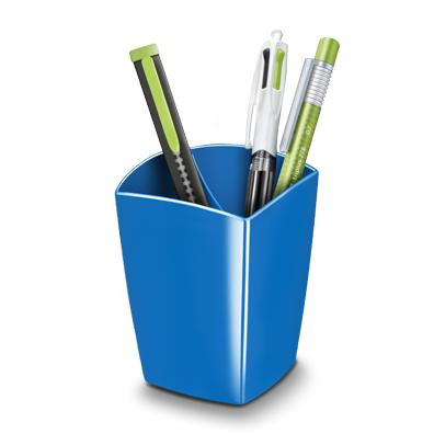 pot a crayon gloss 2 cases cep bleu. Black Bedroom Furniture Sets. Home Design Ideas