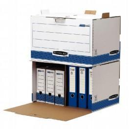 CAISSE ARCHIVE CARTON AUTO BANKERS BOX OUVERTURE FRONTAL LOT DE 5