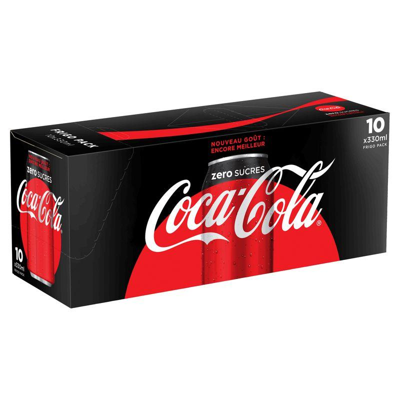 Coca-cola zéro 10x33cl
