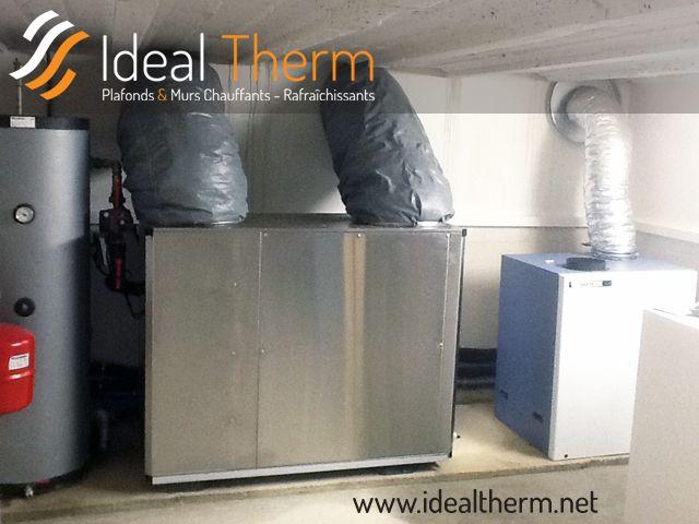 pompe a chaleur air eau interieure. Black Bedroom Furniture Sets. Home Design Ideas