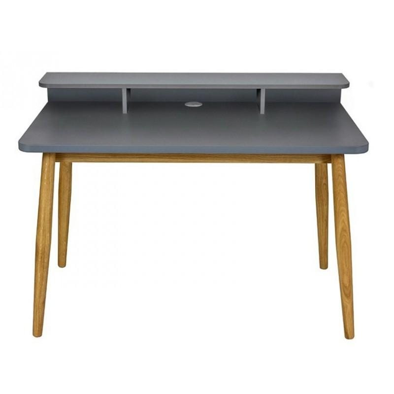 Bureau design farsta 120cm gris - paris prix