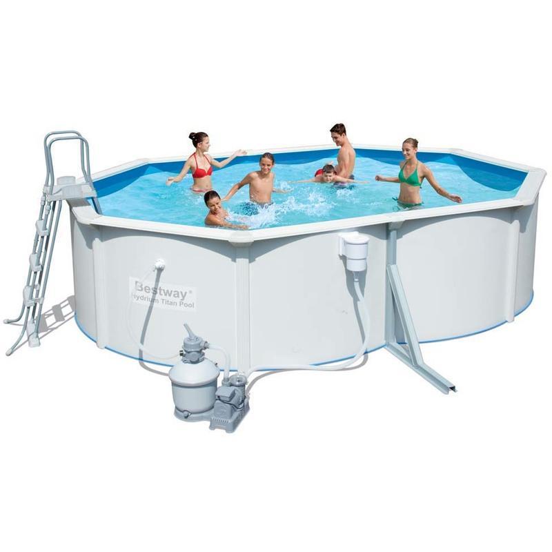 Piscines bestway achat vente de piscines bestway for Piscine tubulaire ovale