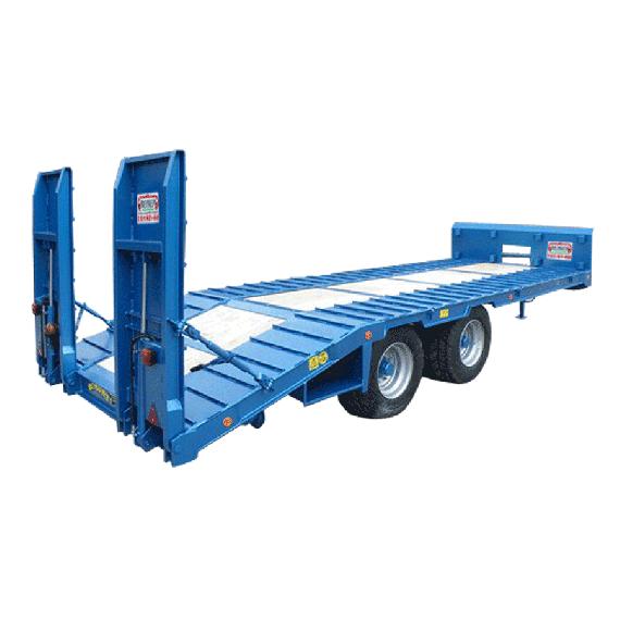 Remorque plateau porte engin 02030100030 for Porte char 60 tonnes