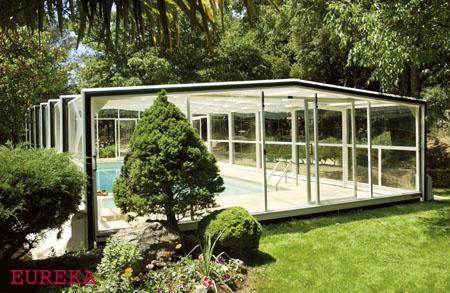Abris de piscine hauts telescopiques residentiels limousin for Abris piscine eureka
