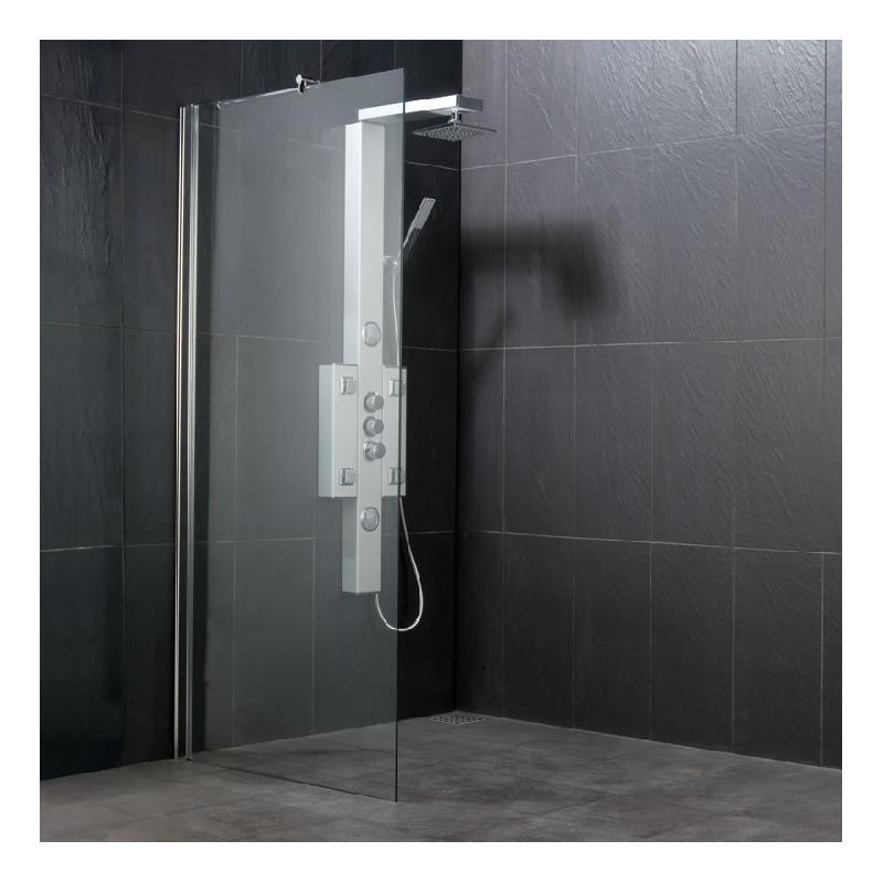 Crans et parois de douches comparez les prix pour for Douche italienne sans paroi