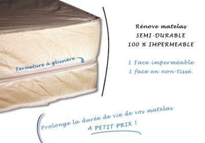 protege renove matelas semi durable 80x190x15. Black Bedroom Furniture Sets. Home Design Ideas
