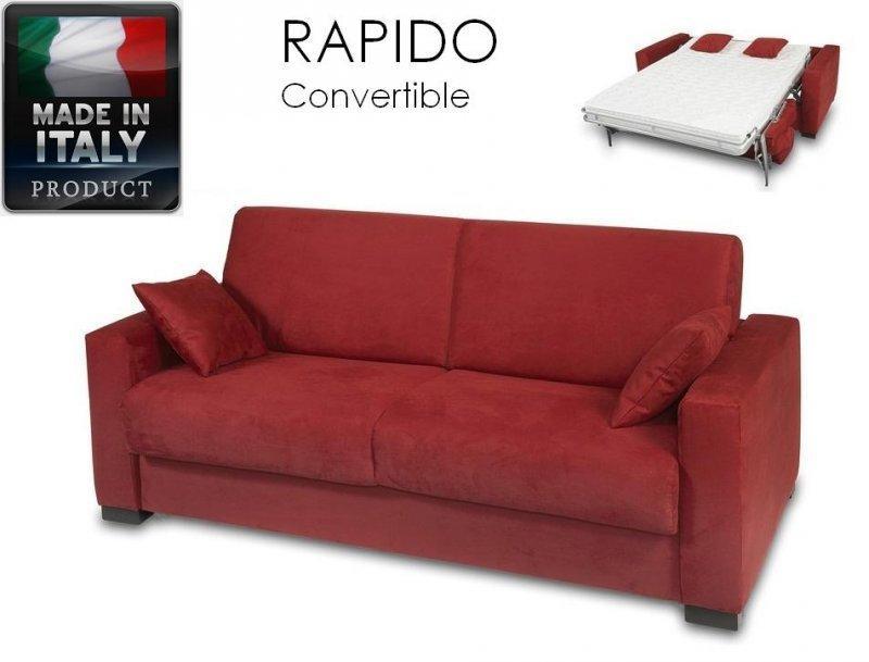 Canape ouverture rapido 2 3 places dreamer convertible lit 120 190