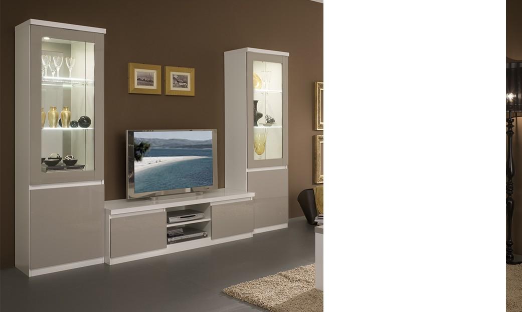 H comme home produits vitrines de salon for Porte salon grise
