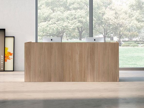 Comptoir de réception en bois modèles en vente via hellopro