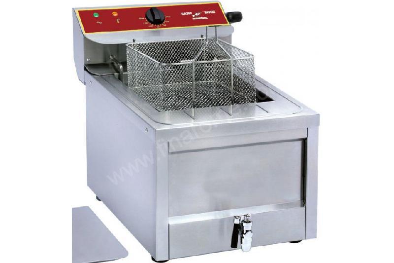Friteuse lectrique professionnelle top avec vidange roller grill 12 l comparer les prix de - Friteuse sans huile professionnelle roller grill ...