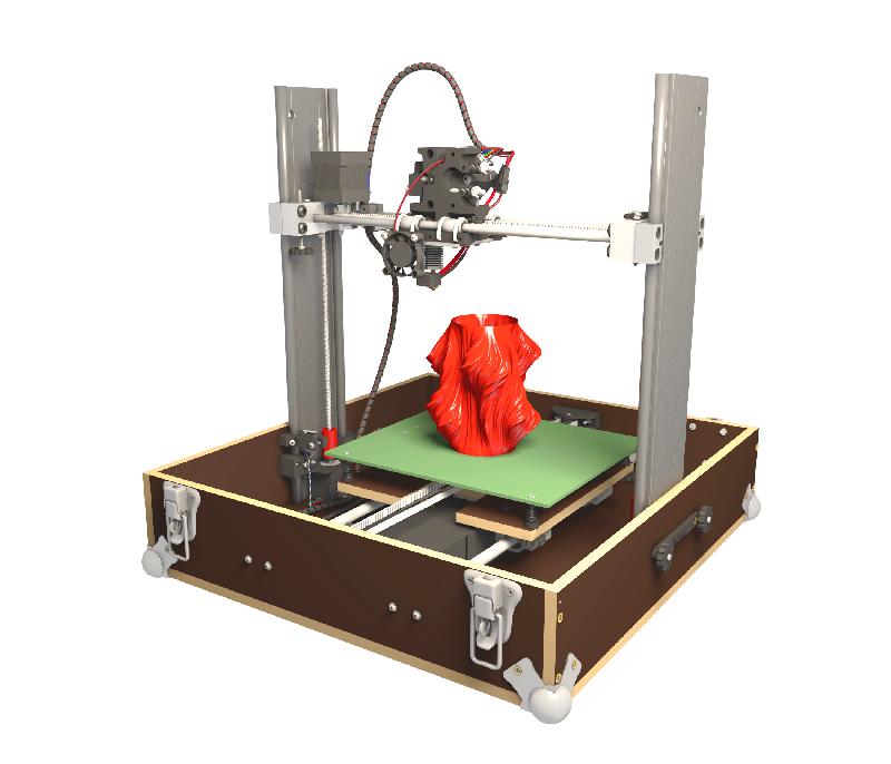 IMPRIMANTE 3D TOBECA 2