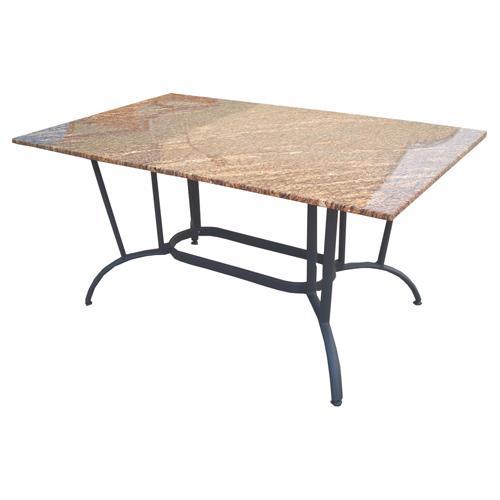 Hedone produits tables de jardins for Table exterieur granit