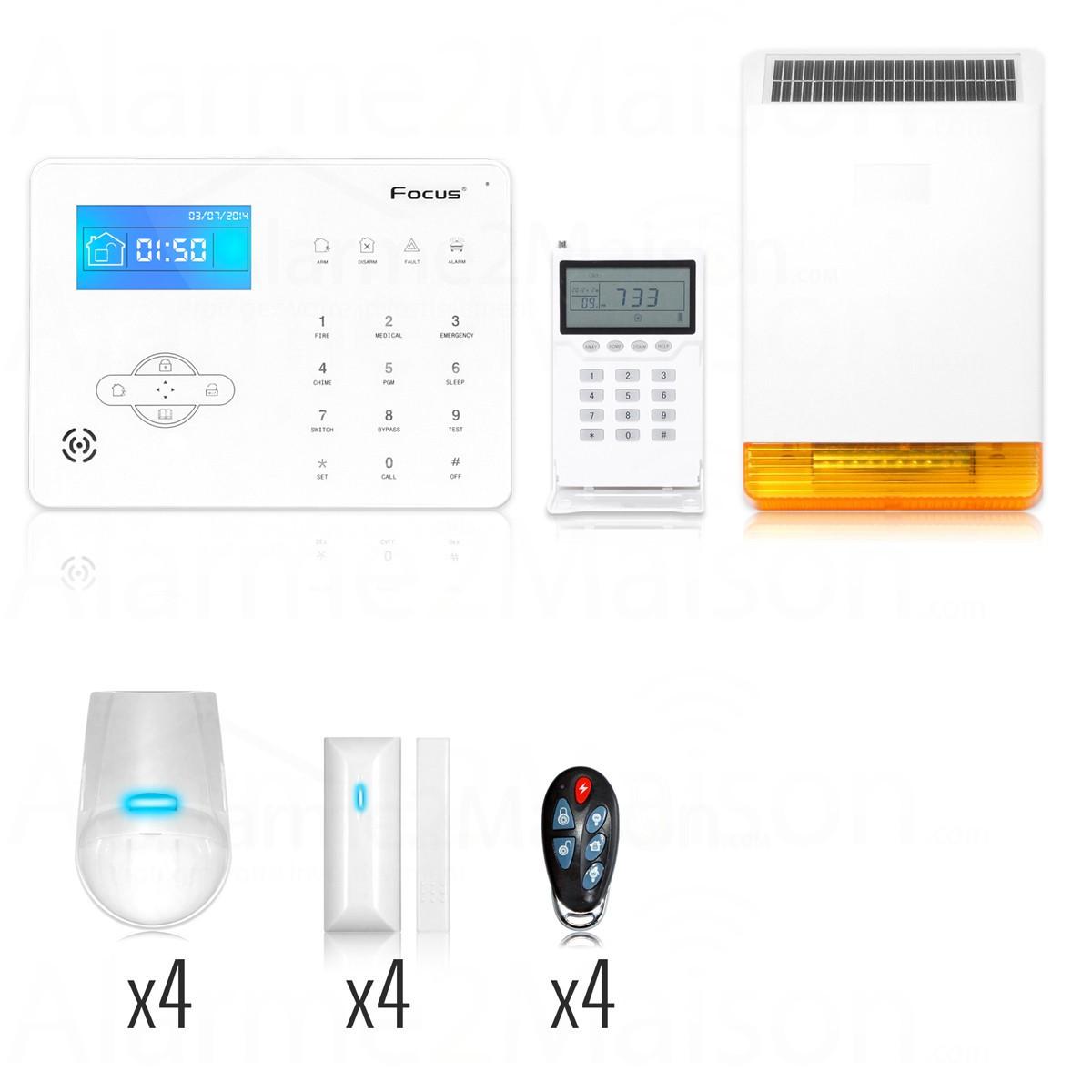 Moderne alarme maison sans fil st 5 pro gsm AJ-25