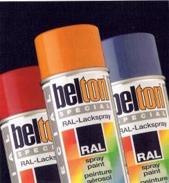 BELTON BOMBE PEINTURE SPECTRAL BRILLANTE RAL 7024 GRIS (324145)