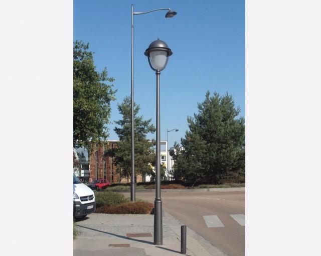 fournisseur lampadaire public belgique