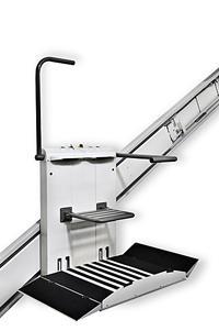 plateforme pmr monte escalier sh. Black Bedroom Furniture Sets. Home Design Ideas