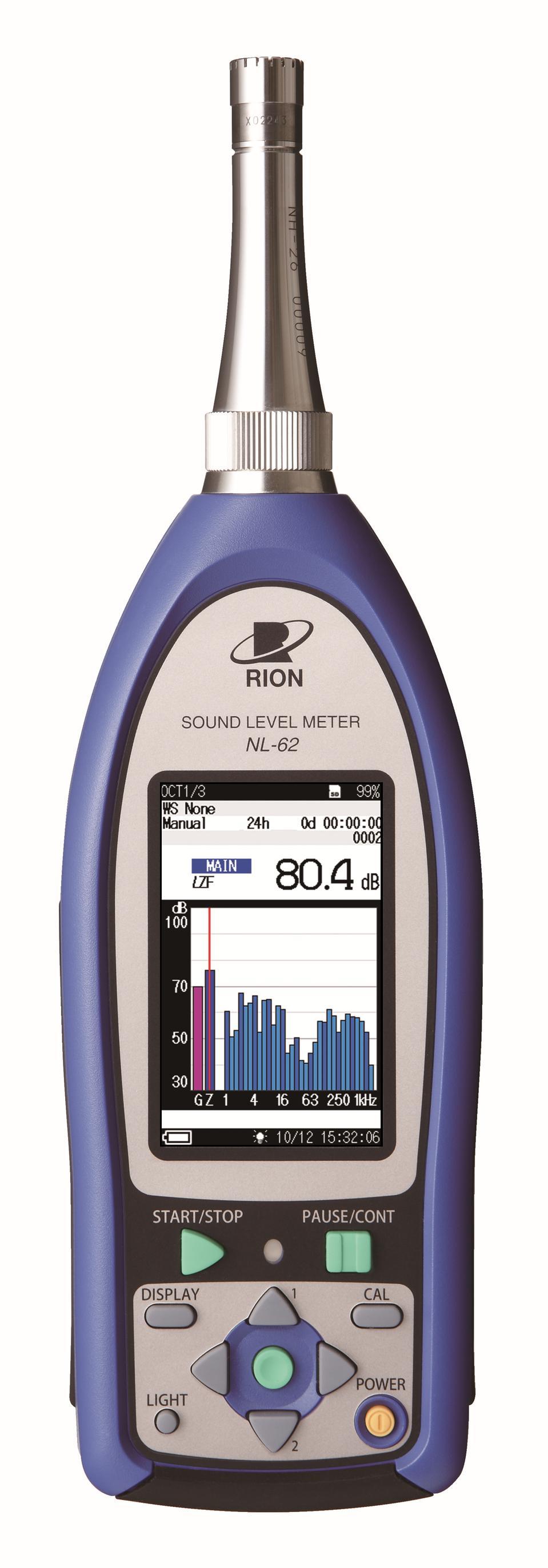 Sonomètre intégrateur - analyseur classe 1 nl-62