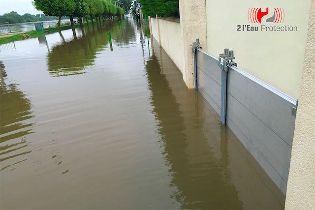 Barrière anti-inondation